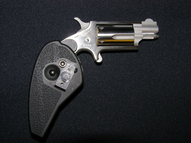 North American Arms  22 Mag Mini-Revolver with Holster Gri