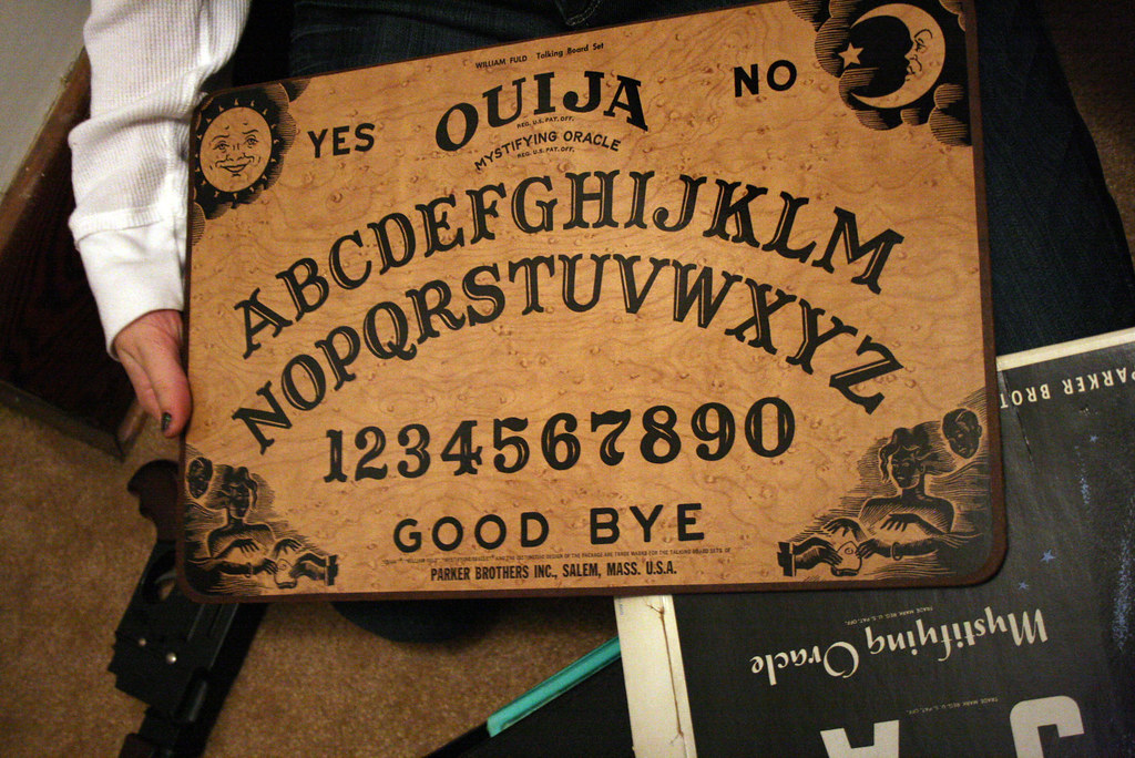 Ouija Board Jmawork Flickr