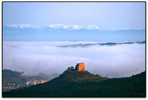 Castell dels Moros, Figaró-Montmany (el Vallès Oriental)