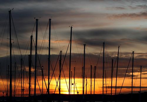 desmoinesmarina desmoineswa sunset shesnuckinfuts january2009 pugetsound boats experiencewa silhouette