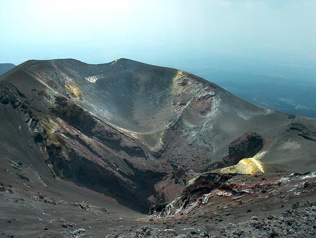Nuovo cratere dell'Etna