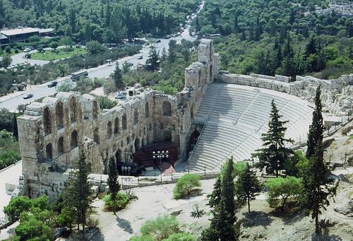 Odeon des Herodes Atticus (Griechenland) | by LOMO56