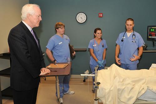 Senator Cornyn Visit