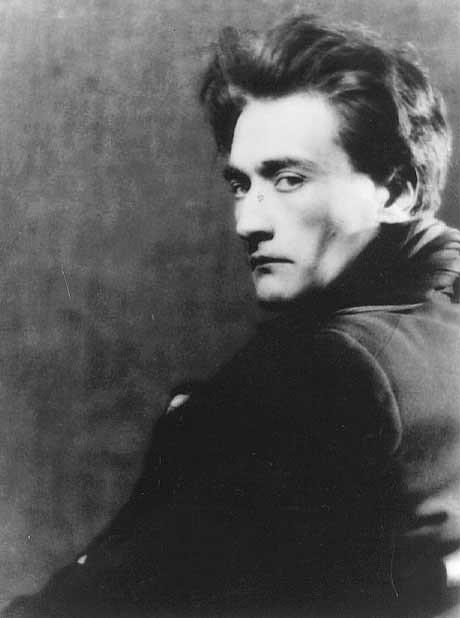Antonin Artaud by Man Ray