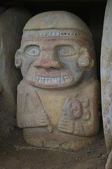 San Agustin burial image