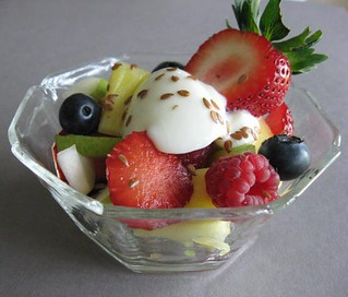 Fruit and Yogurt Lunch Salad | by maryeb2