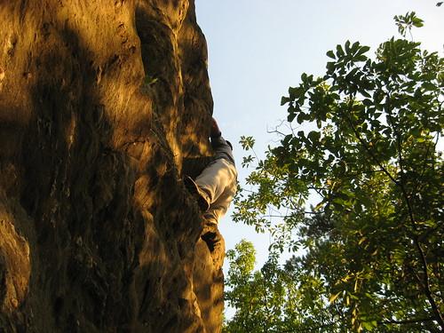 trees sunset summer camp sky face rock wednesday scott idiot climbing knob raven garymeyer