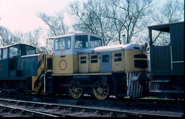 K&ESR Fowler diesel loco at Rolvenden