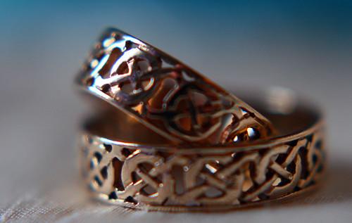 celtic wedding rings | by apdk
