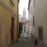 A street view in Cesky Krumlov