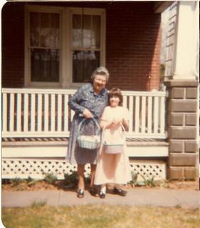 Esta and Grandma Brackbill