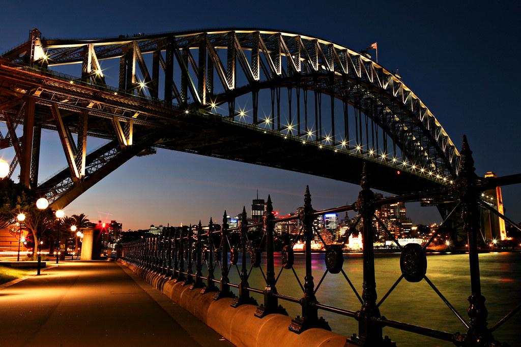 Image: Blue Hour Bridge