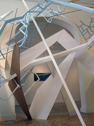 "David Hamill ""Bridge to Everywhere"" installlation detail"