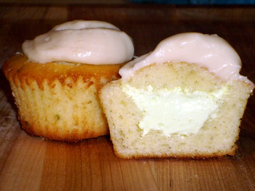 Key Lime Cupcakes with Bailey's Cream Cheese Frosting