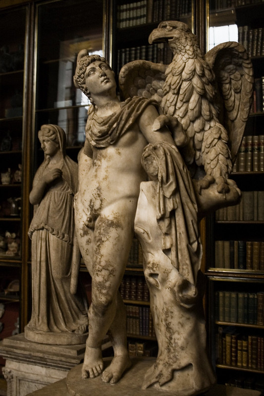 An image of a statue of Ganymede at the British Museum © Icy Sedgwick