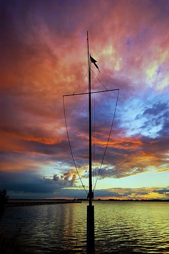 sunset clouds lightroom sigma1020mm rondeauprovincialpark southwestontario bobwest k10d rondeaubay gaju2810