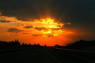 Atardecer en la carretera | by jafsegal (Thanks for the 4,5 million views)