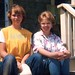 Sue and I at Higgins Beach 1986 by jenlspaulding