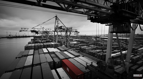 blackandwhite bw docks liverpooldocks ships cranes acl containers vessels containerships seaforthdocks atlanticcontainerline dockcranes mdhc atlanticconveyor seaforthcontainerterminal peelports