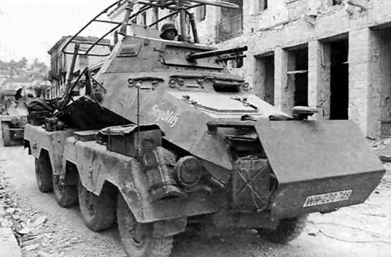 Germany's Panzerspähwagen (6-Rad) SdKfz 23
