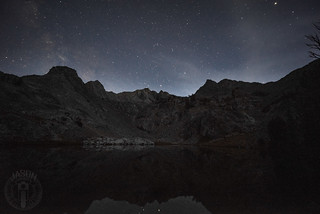 Stars above the basin