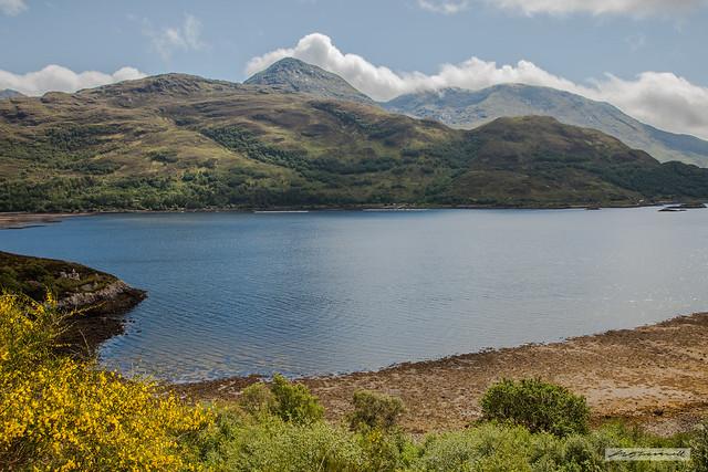 An Stac across Loch Ailort.