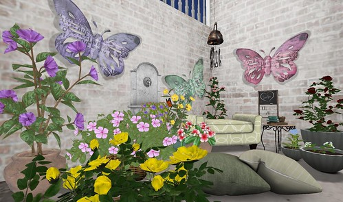 Gacha Good, The Best is Yet to Come Event: Park Place- Garden Room | by Hidden Gems in Second Life (Interior Designer)