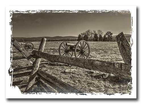 The cannons of Antietam...