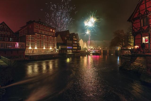 Silvester 2017 in Lüneburg
