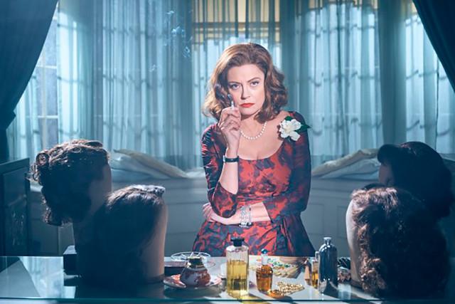 """Jessica Lange y Susan Sarandon en la serie """"Feud"""""""