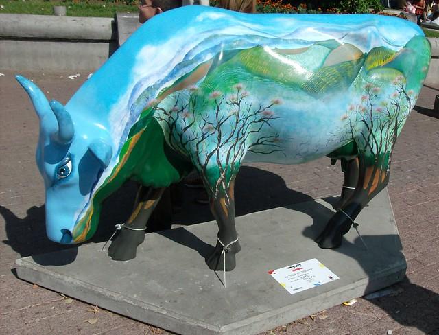 Vaca en verano  - Cow Parade Costa Rica 2008