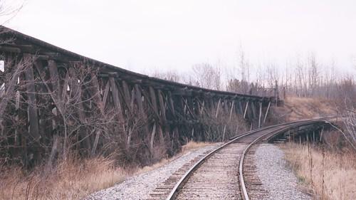 railroad trestle usa heritage wisconsin tracks bridges ashland lakesuperior smalltown oredock ashlandcounty