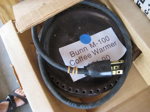 Bunn coffee warmer