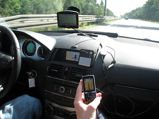 Loads of GPS devices in our car | by mroach