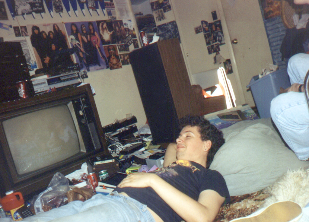 199407 - Clint's room - Clint - laying down - 0497