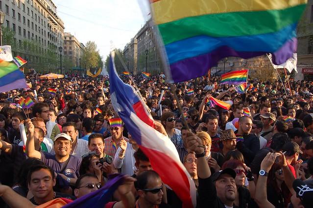 Marcha del orgullo gay, Santiago de chile.- 270908.- 89