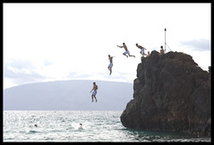 Jumping off Black Rock | by SKimchee