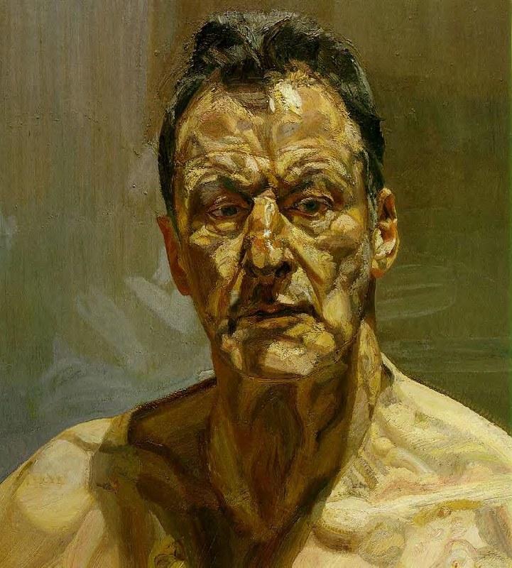 Freud, Lucian (1922- ) - 1981 Reflection (Self Portrait)
