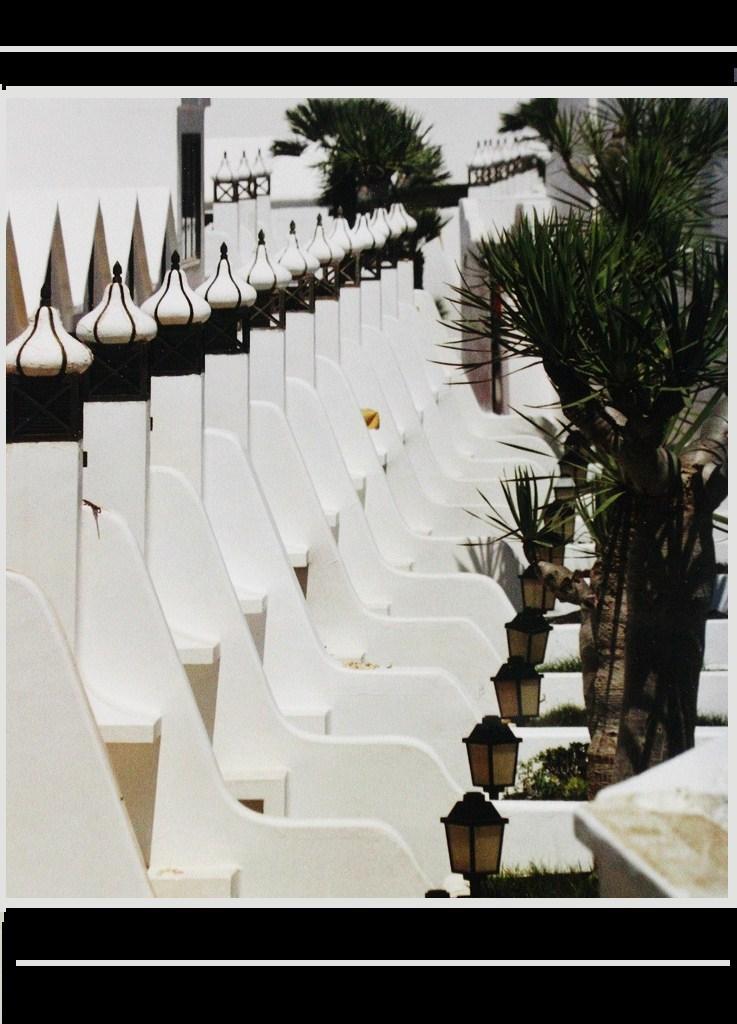 Lanzarote - weiße Spitzen