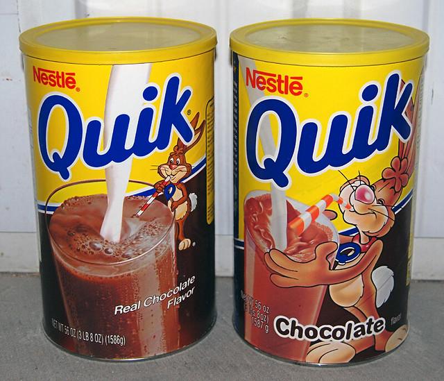 Nestle Quik, 1990's