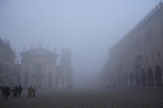 nebbia a Mantova