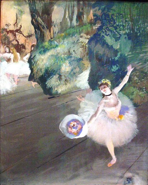 Dancer Taking a Bow (the Prima Ballerina) 1877, by Edgar Degas