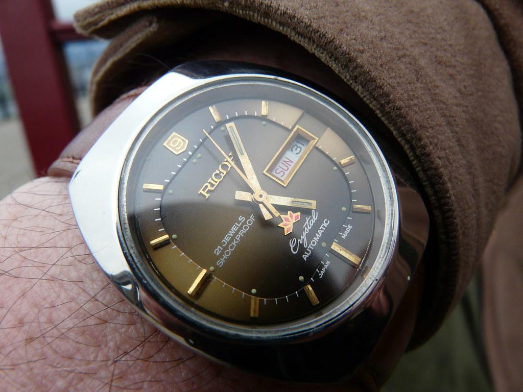 Ricoh make watches too