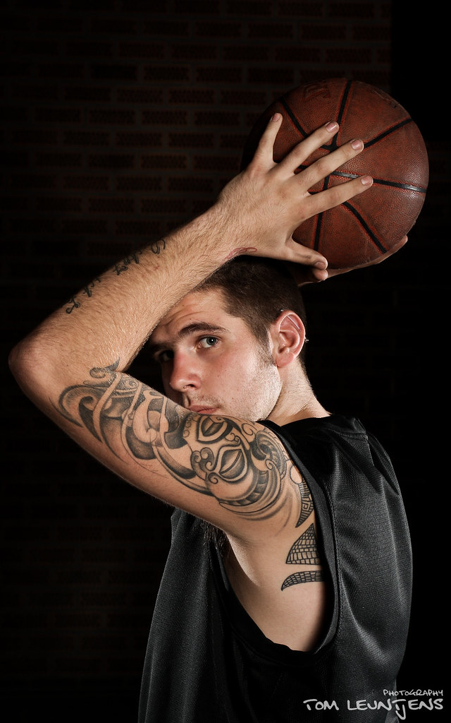 Basketball Portraits - Preview by Tom Leuntjens Photography