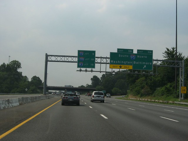 Exit 11, I-95, Interstate 695 Near Baltimore, Maryland | Flickr