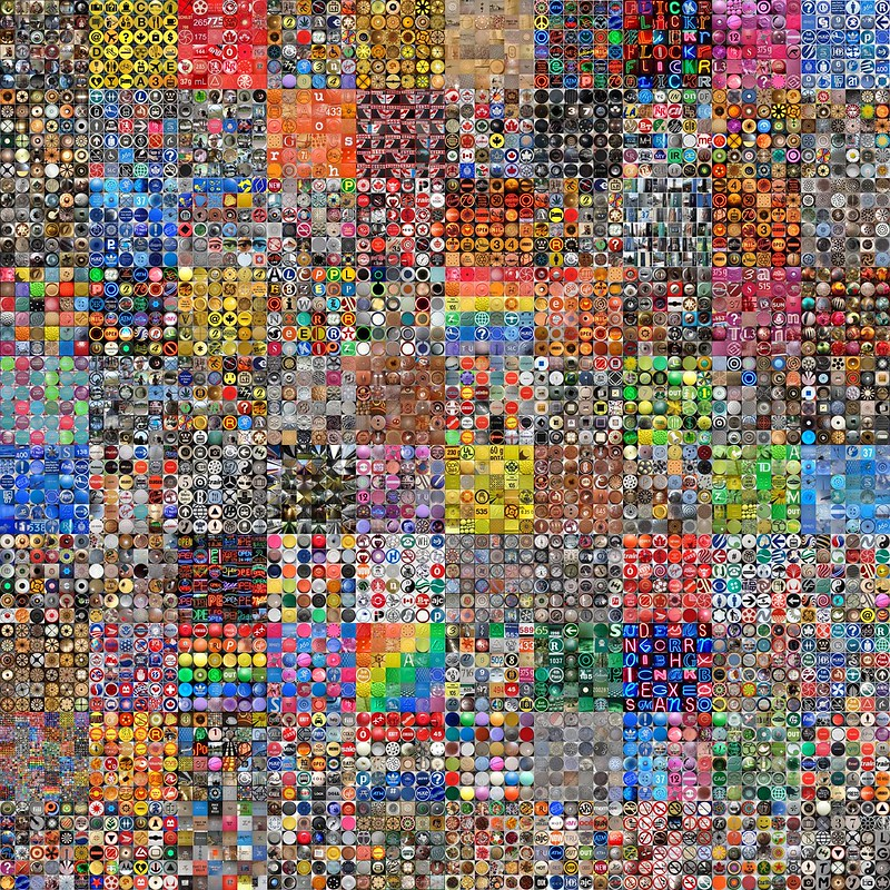Scrambled 6x6 theme mosaics