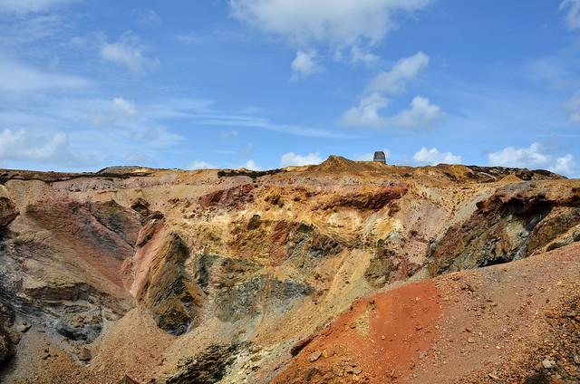 Parys Mountain Copper Mine ... I Love The Rock Diversity Here