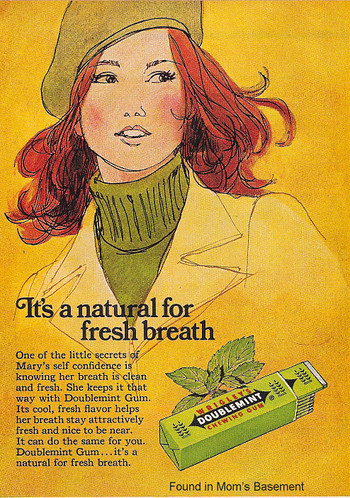 1975 Wrigley's Doublemint Advertisement