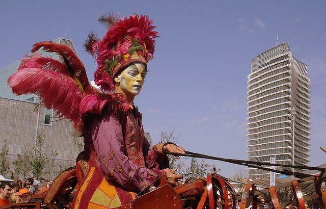 Torre del Agua y el Cirque del Soleil