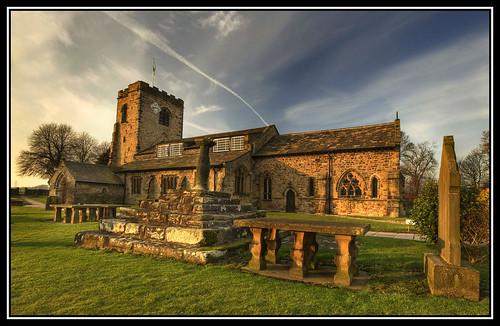 winter sunlight church ribchester vosplusbellesphotos
